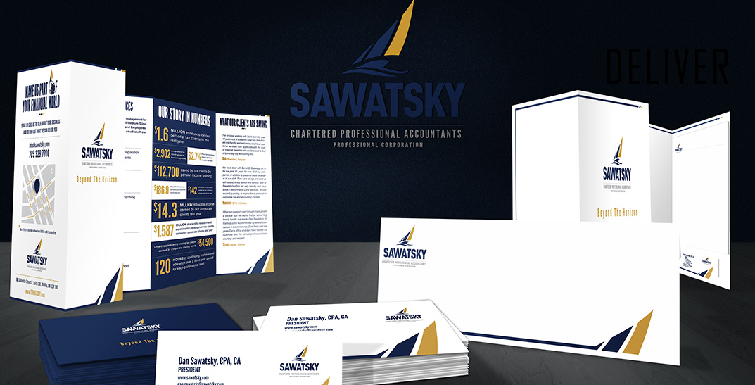 Sawatsky Professional Corporation Branding